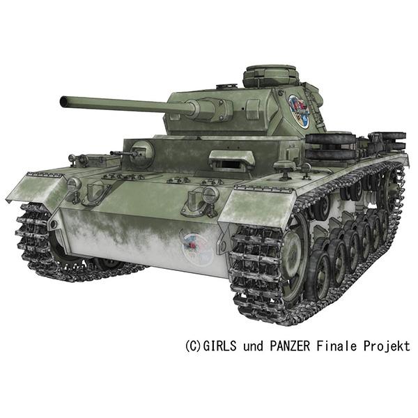 ガールズ&パンツァー 最終章『III号戦車J型 ヴァイキング水産高校』1/35 プラモデル