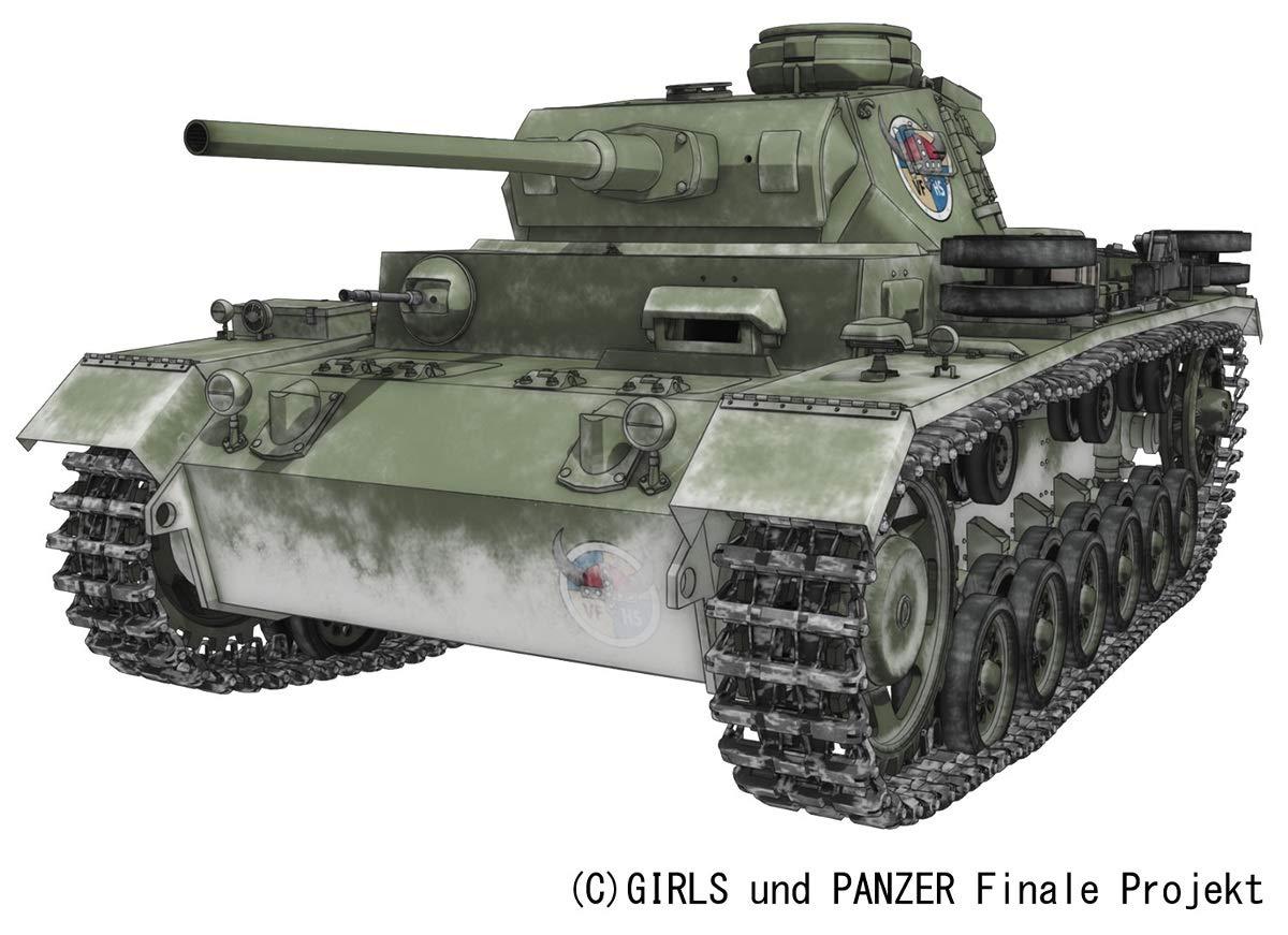 ガールズ&パンツァー 最終章『III号戦車J型 ヴァイキング水産高校』1/35 プラモデル-001