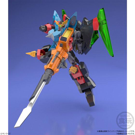 【再販】【食玩】スーパーミニプラ『勇者王ガオガイガー4 ガオファイガー』プラモデル 4個入りBOX-008