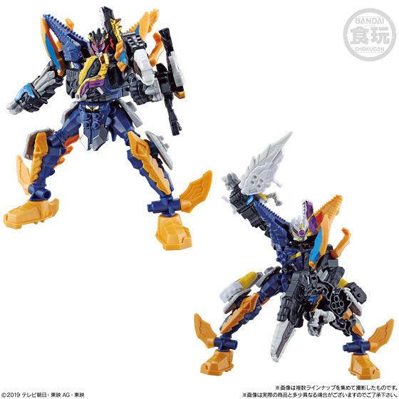 【食玩】ミニプラ『騎士竜合体シリーズ05 竜装合体』騎士竜戦隊リュウソウジャー 12個入りBOX-009