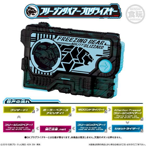 【食玩】サウンドプログライズキーシリーズ『SGプログライズキー02』仮面ライダーゼロワン 8個入りBOX-004