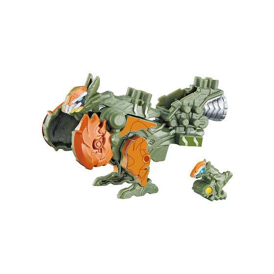 騎士竜戦隊リュウソウジャー『ガシャポン可動変形 パキガルー&コスモラプター』ガシャポン-001