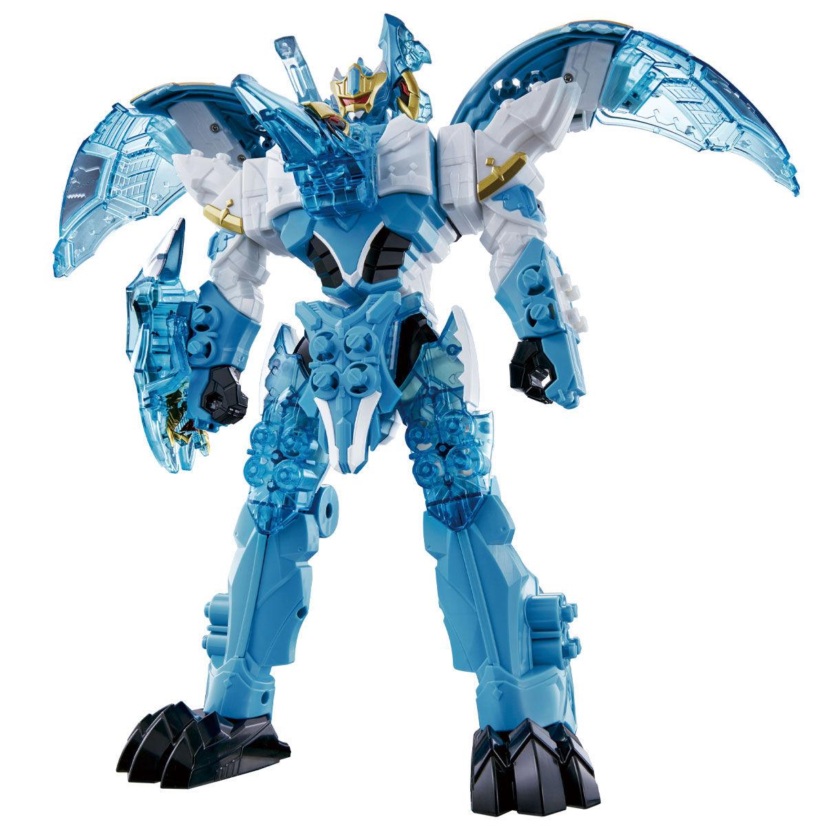 騎士竜戦隊リュウソウジャー『騎士竜シリーズ11 竜装変形 DXヨクリュウオー』可変可動フィギュア-001
