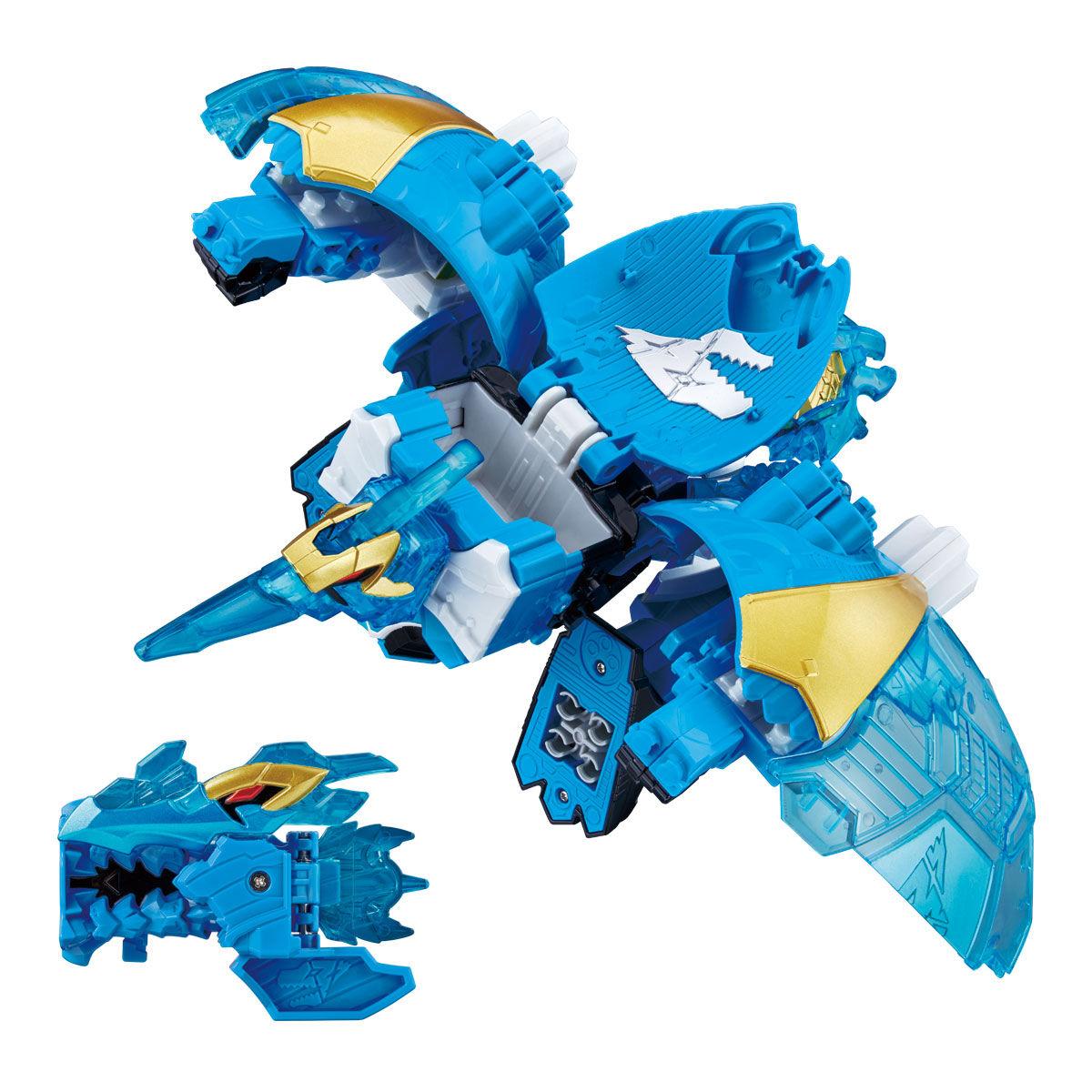 騎士竜戦隊リュウソウジャー『騎士竜シリーズ11 竜装変形 DXヨクリュウオー』可変可動フィギュア-002
