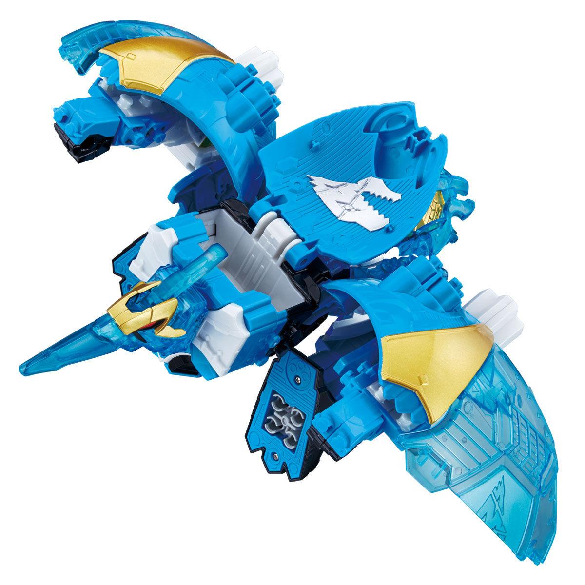 騎士竜戦隊リュウソウジャー『騎士竜シリーズ11 竜装変形 DXヨクリュウオー』可変可動フィギュア-003
