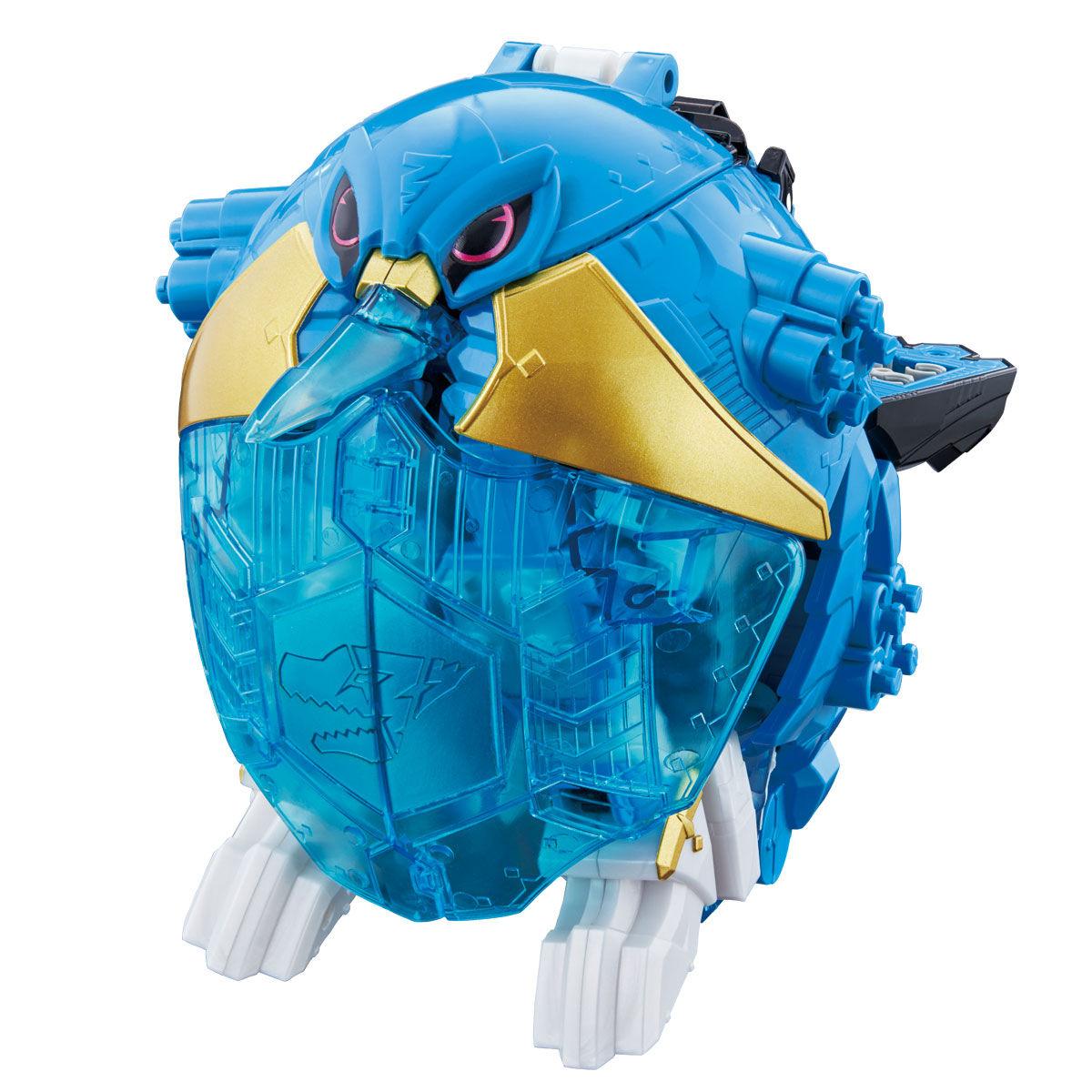 騎士竜戦隊リュウソウジャー『騎士竜シリーズ11 竜装変形 DXヨクリュウオー』可変可動フィギュア-004