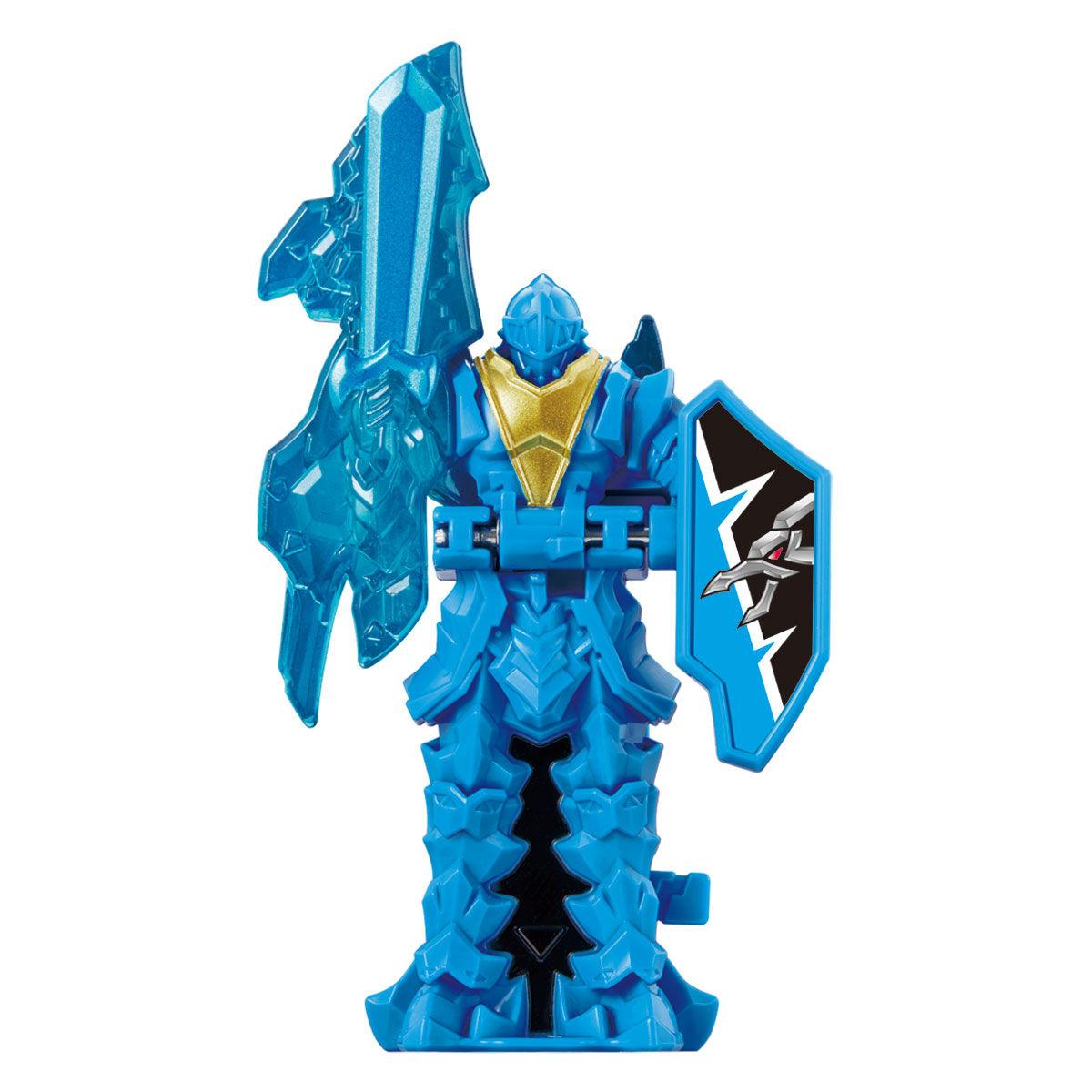 騎士竜戦隊リュウソウジャー『騎士竜シリーズ11 竜装変形 DXヨクリュウオー』可変可動フィギュア-006