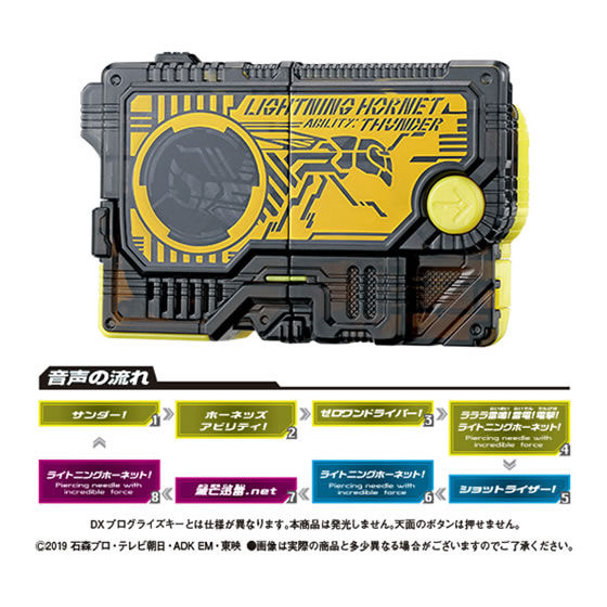【ガシャポン】サウンドプログライズキーシリーズ『GPプログライズキー03』仮面ライダーゼロワン 変身なりきり-002