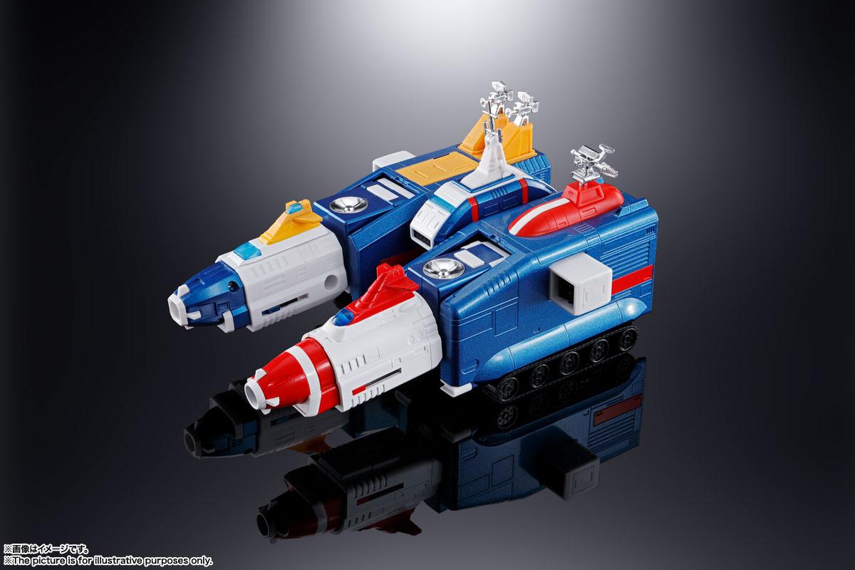 超合金魂『GX-88 機甲艦隊ダイラガーXV』可動フィギュア-009
