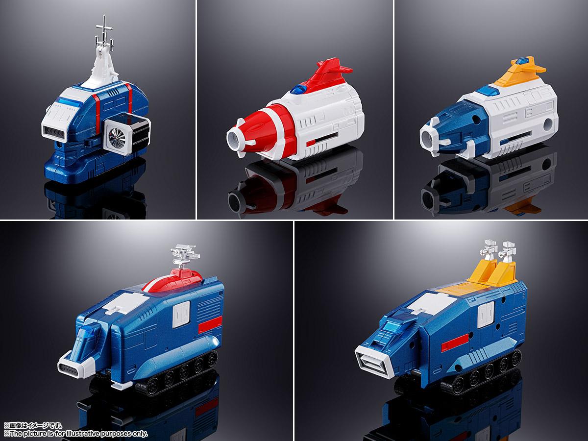 【再販】超合金魂『GX-88 機甲艦隊ダイラガーXV』可動フィギュア-010