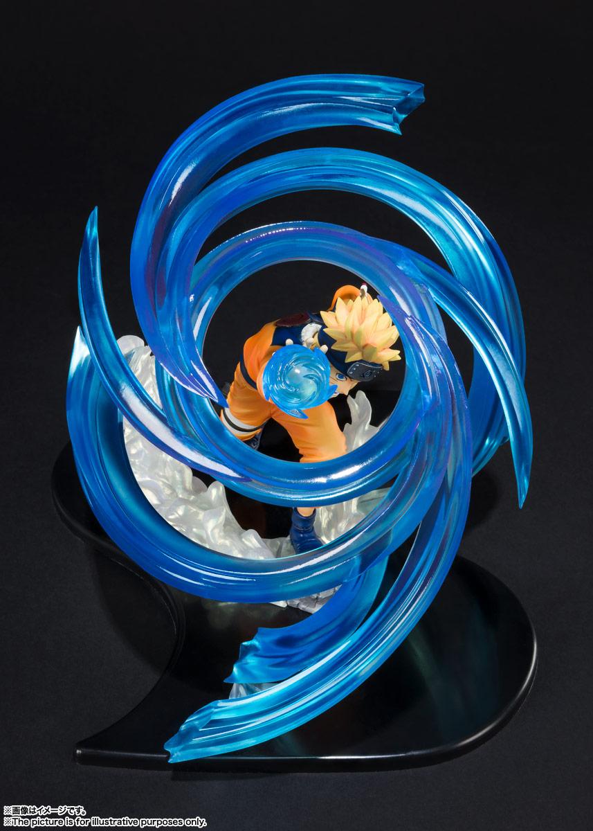 フィギュアーツZERO『うずまきナルト-螺旋丸- 絆Relation』NARUTO -ナルト- 疾風伝 完成品フィギュア-002
