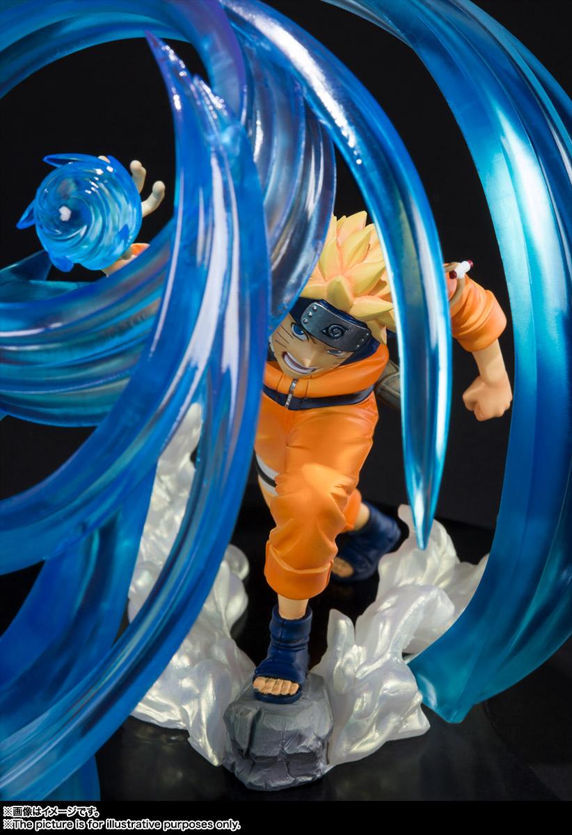 フィギュアーツZERO『うずまきナルト-螺旋丸- 絆Relation』NARUTO -ナルト- 疾風伝 完成品フィギュア-005