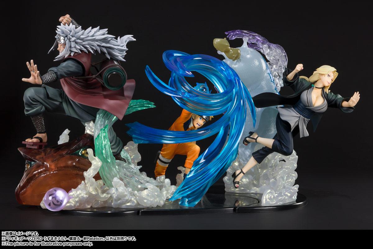 フィギュアーツZERO『うずまきナルト-螺旋丸- 絆Relation』NARUTO -ナルト- 疾風伝 完成品フィギュア-007