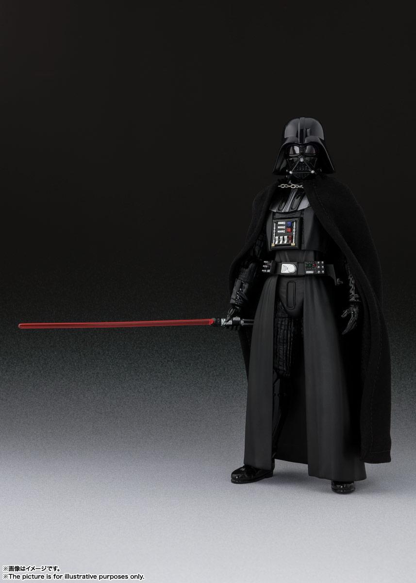 S.H.Figuarts『ダース・ベイダー(Star Wars: Episode VI Return of the Jedi)』スター・ウォーズ 可動フィギュア-002