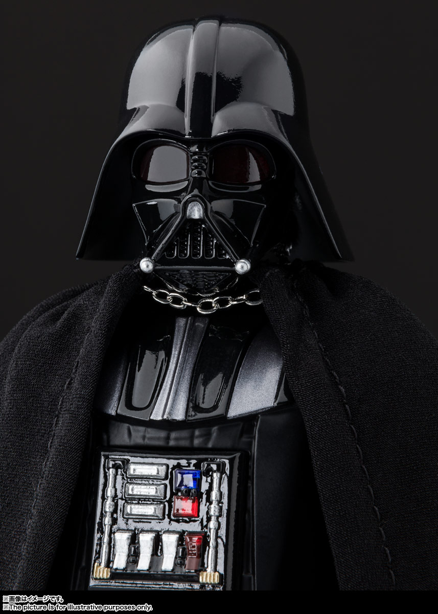 S.H.Figuarts『ダース・ベイダー(Star Wars: Episode VI Return of the Jedi)』スター・ウォーズ 可動フィギュア-005