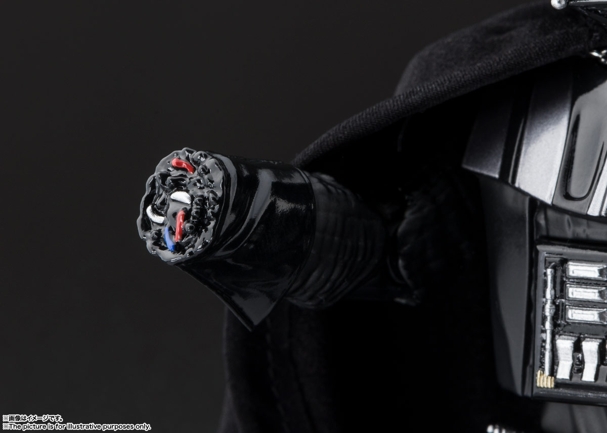 S.H.Figuarts『ダース・ベイダー(Star Wars: Episode VI Return of the Jedi)』スター・ウォーズ 可動フィギュア-008
