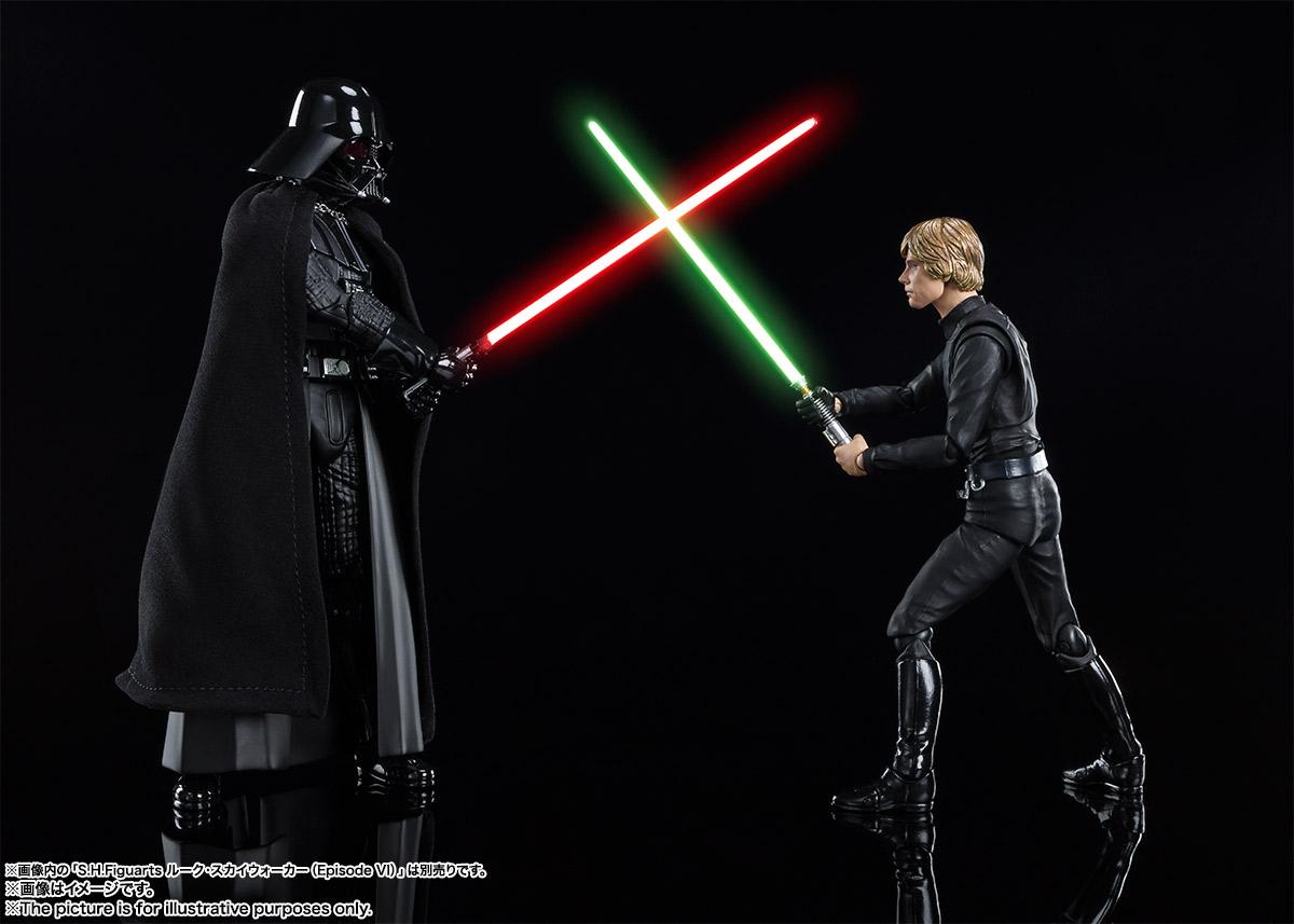 S.H.Figuarts『ダース・ベイダー(Star Wars: Episode VI Return of the Jedi)』スター・ウォーズ 可動フィギュア-009