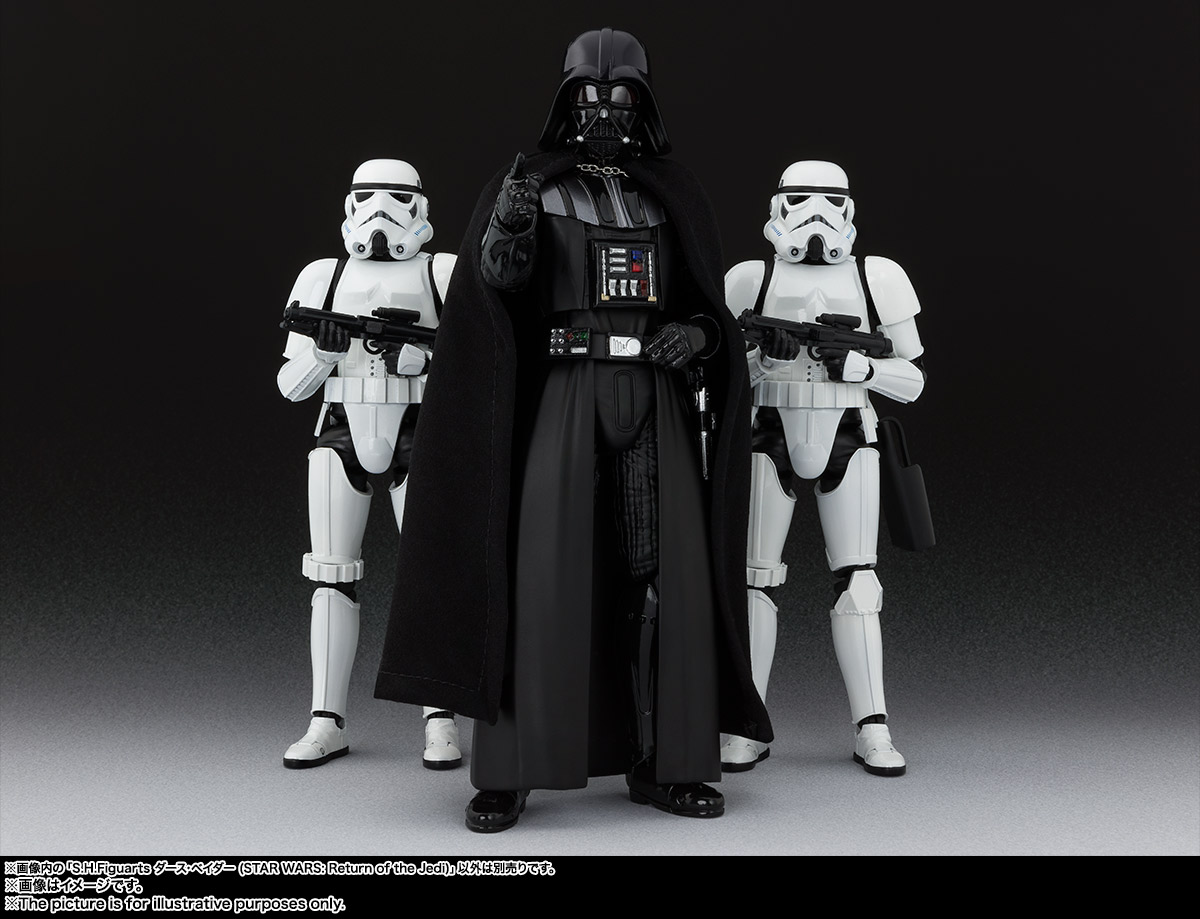 S.H.Figuarts『ダース・ベイダー(Star Wars: Episode VI Return of the Jedi)』スター・ウォーズ 可動フィギュア-010