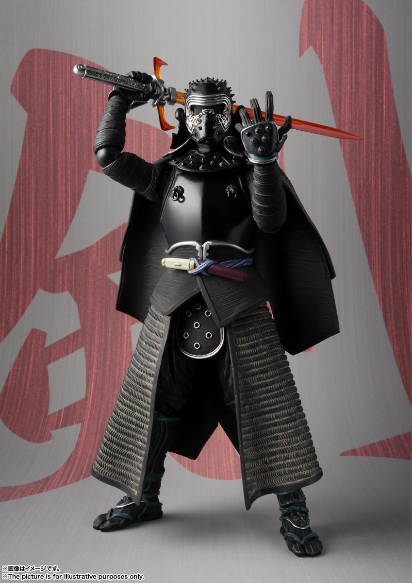 名将MOVIE REALIZATION『侍大将カイロ・レン』スター・ウォーズ 可動フィギュア-004