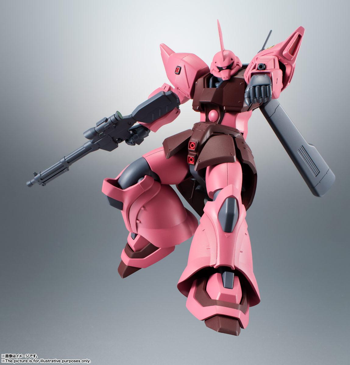 ROBOT魂〈SIDE MS〉『MS-14JG ゲルググJ ver. A.N.I.M.E.』可動フィギュア-004