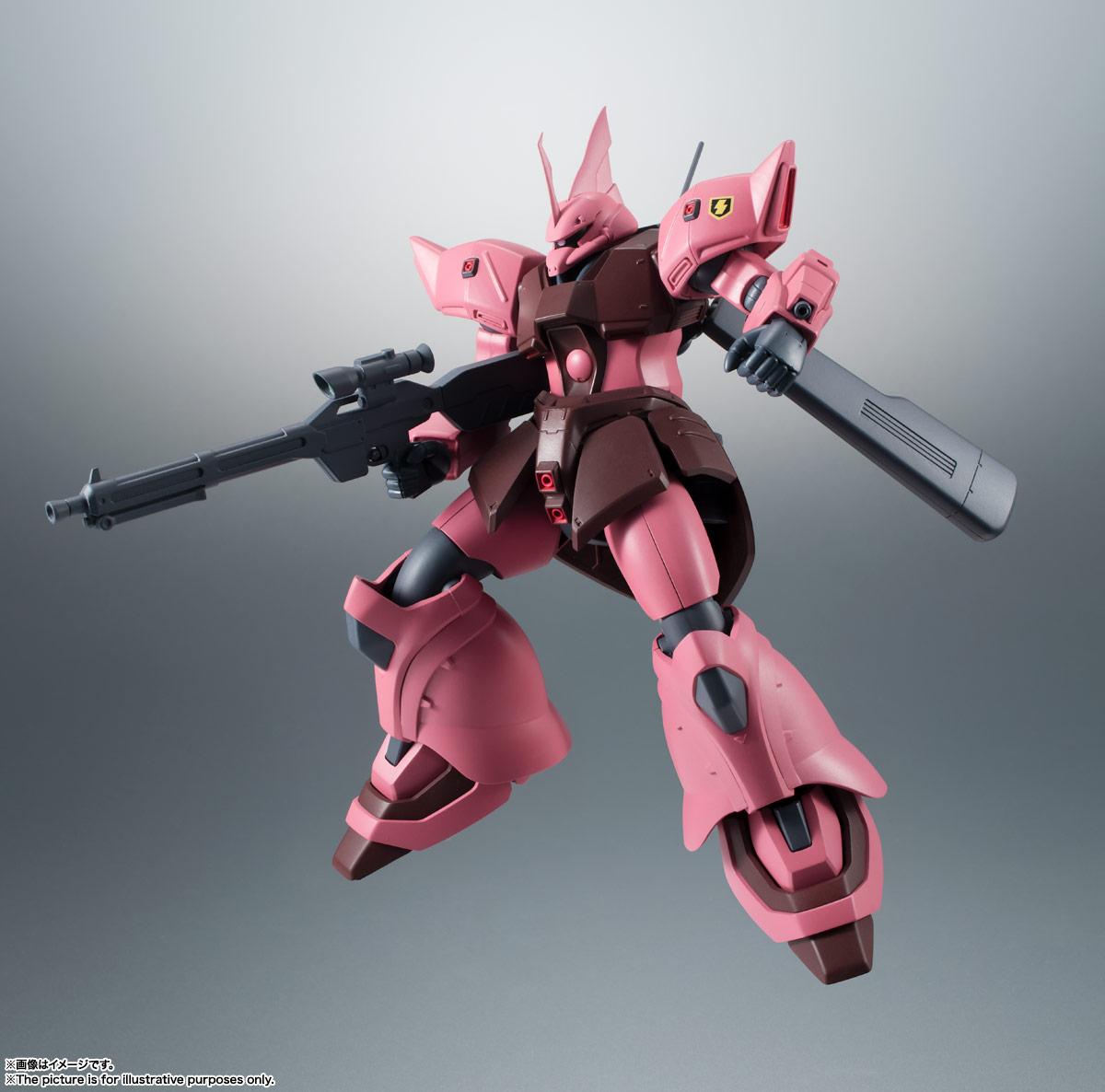 ROBOT魂〈SIDE MS〉『MS-14JG ゲルググJ ver. A.N.I.M.E.』可動フィギュア-005