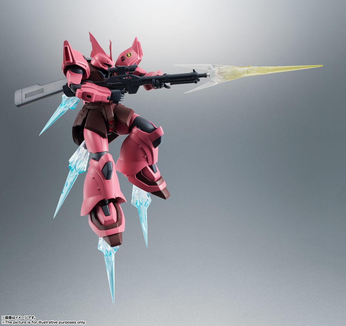 ROBOT魂〈SIDE MS〉『MS-14JG ゲルググJ ver. A.N.I.M.E.』可動フィギュア-009