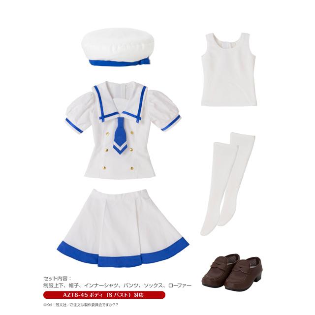 ご注文はうさぎですか??『チノの夏制服セット』1/3 ドール服