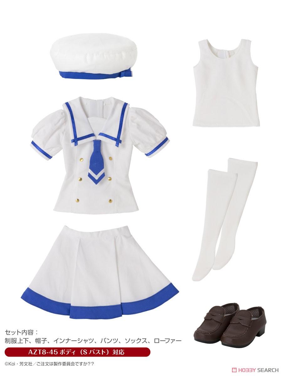 ご注文はうさぎですか??『チノの夏制服セット』1/3 ドール服-001