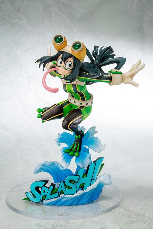 【再販】僕のヒーローアカデミア『蛙吹梅雨 ヒーロースーツVer.』1/8 完成品フィギュア-001