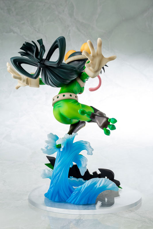 【再販】僕のヒーローアカデミア『蛙吹梅雨 ヒーロースーツVer.』1/8 完成品フィギュア-002