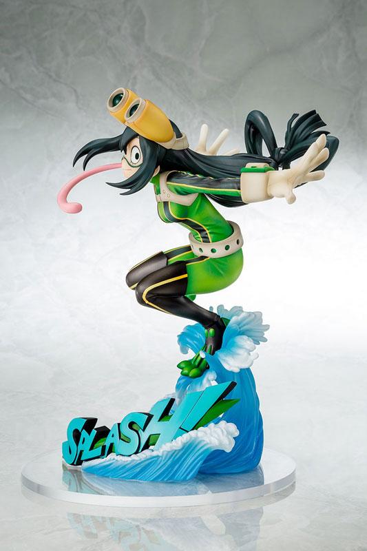 【再販】僕のヒーローアカデミア『蛙吹梅雨 ヒーロースーツVer.』1/8 完成品フィギュア-003