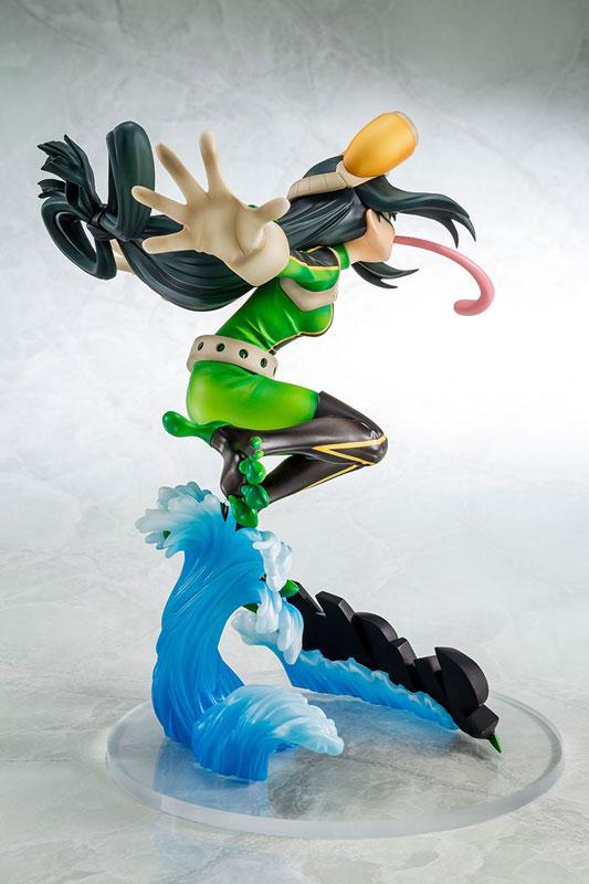【再販】僕のヒーローアカデミア『蛙吹梅雨 ヒーロースーツVer.』1/8 完成品フィギュア-004