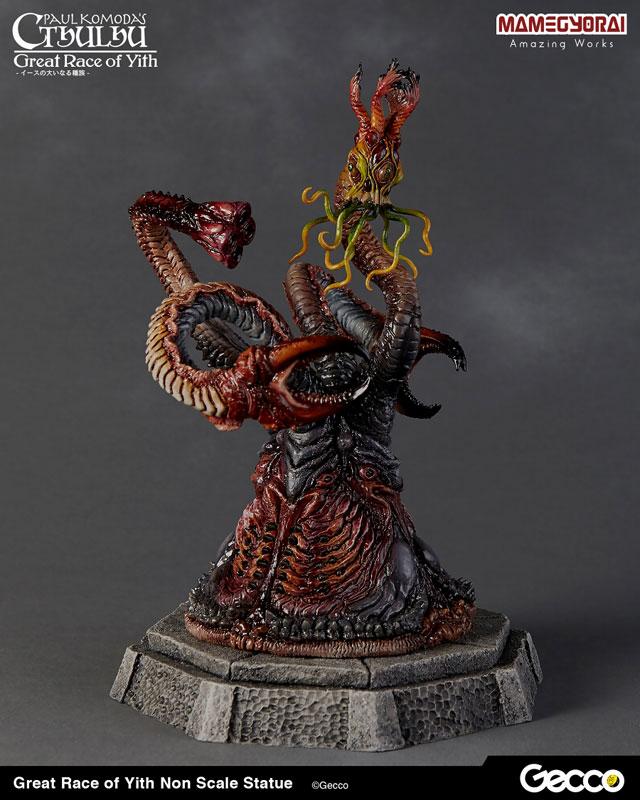 クトゥルフ神話『イースの大いなる種族』スタチュー 塗装済完成品-002