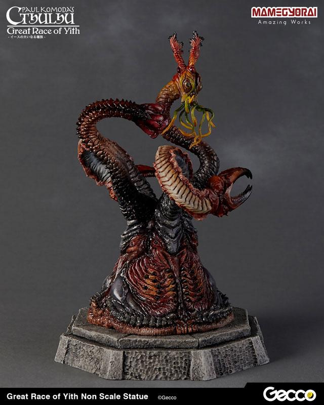 クトゥルフ神話『イースの大いなる種族』スタチュー 塗装済完成品-003