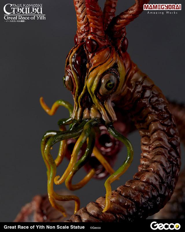 クトゥルフ神話『イースの大いなる種族』スタチュー 塗装済完成品-009