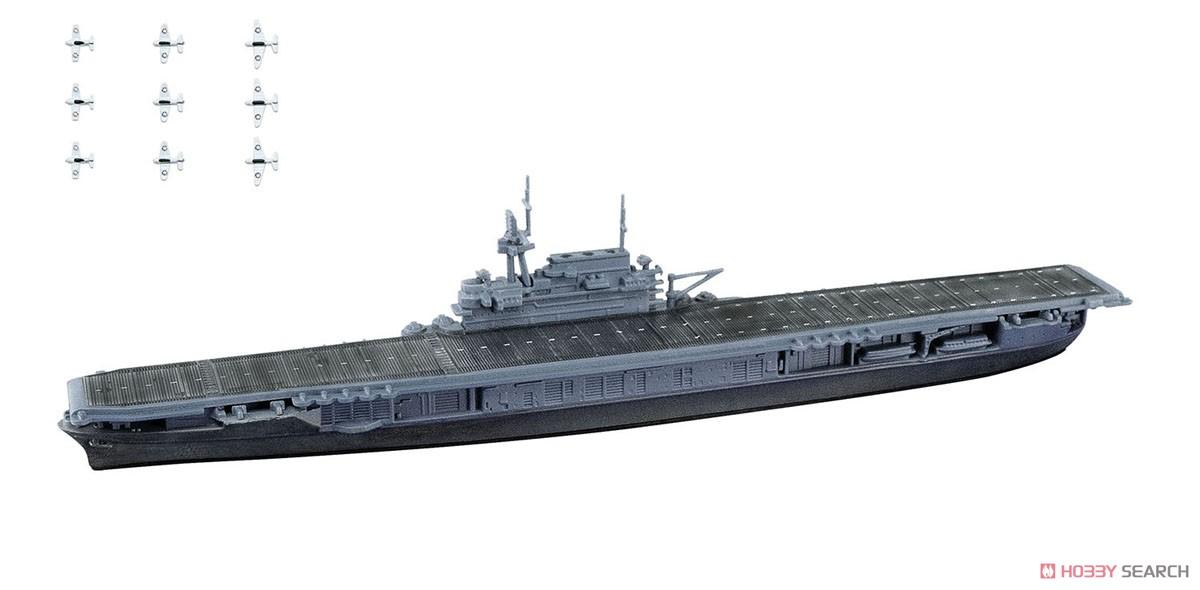【食玩】1/2000『世界の艦船キット vol.2』プラモデル 10個入りBOX-003