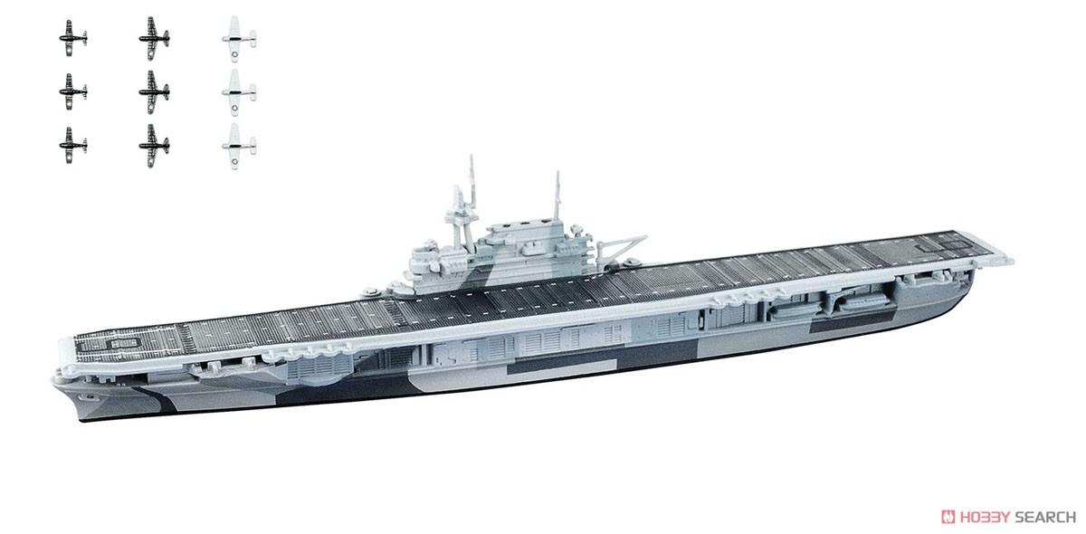 【食玩】1/2000『世界の艦船キット vol.2』プラモデル 10個入りBOX-005