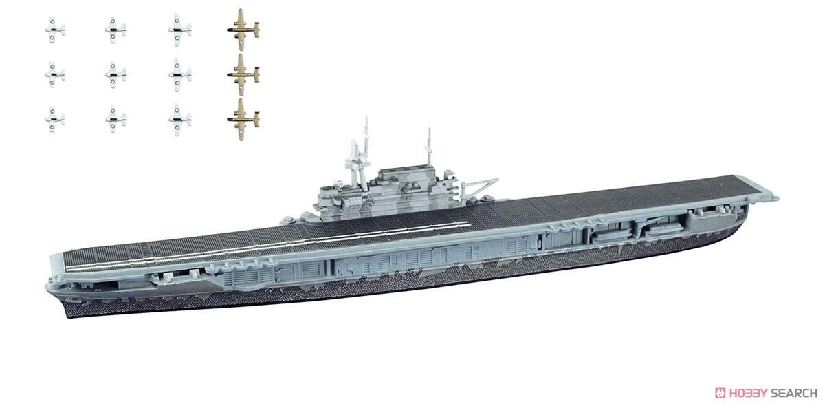 【食玩】1/2000『世界の艦船キット vol.2』プラモデル 10個入りBOX-007