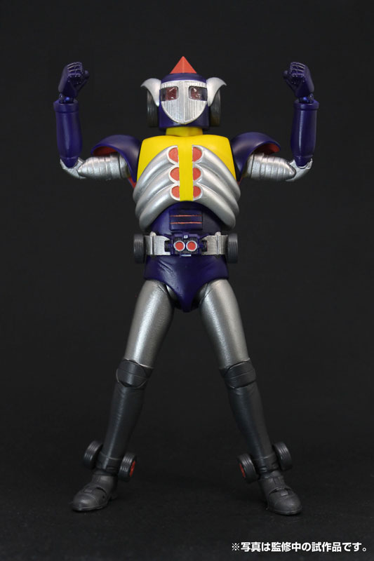 HAF(ヒーローアクションフィギュア)東映編『宇宙鉄人キョーダイン グランゼル』アクションフィギュア-001