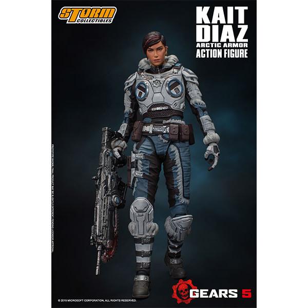 Gears 5(ギアーズ5)『ケイト・ディアス アーティックアーマー』可動フィギュア