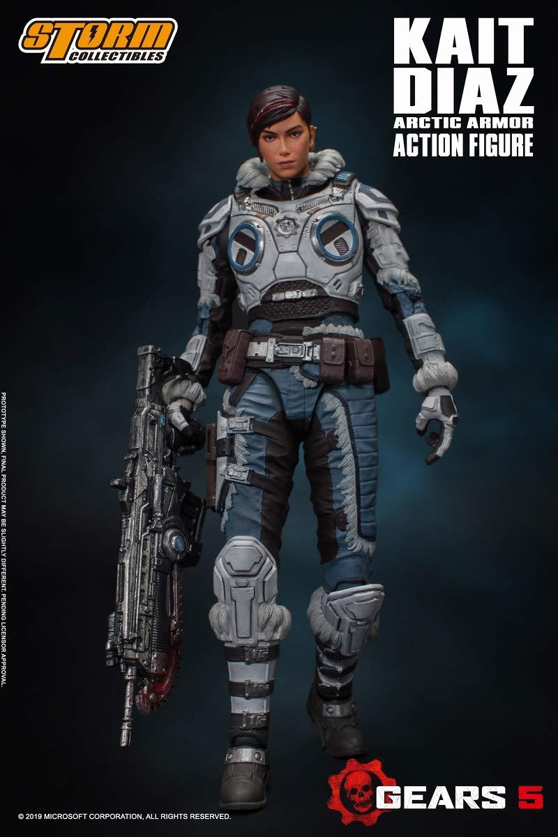 Gears 5(ギアーズ5)『ケイト・ディアス アーティックアーマー』可動フィギュア-001