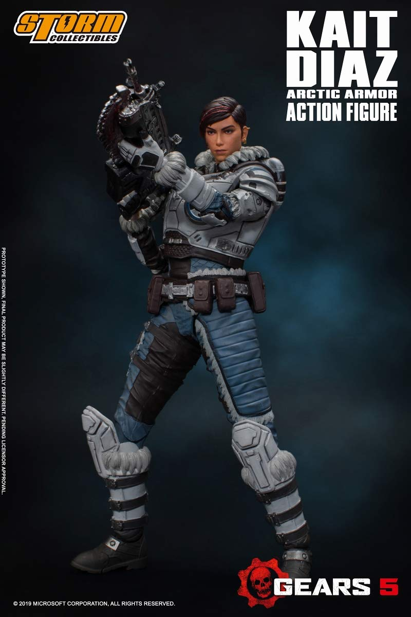 Gears 5(ギアーズ5)『ケイト・ディアス アーティックアーマー』可動フィギュア-002