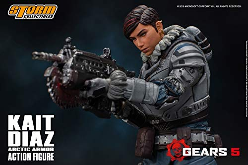 Gears 5(ギアーズ5)『ケイト・ディアス アーティックアーマー』可動フィギュア-003