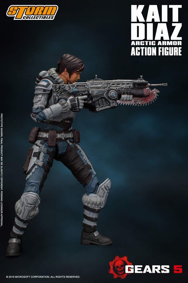 Gears 5(ギアーズ5)『ケイト・ディアス アーティックアーマー』可動フィギュア-004