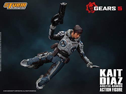 Gears 5(ギアーズ5)『ケイト・ディアス アーティックアーマー』可動フィギュア-005