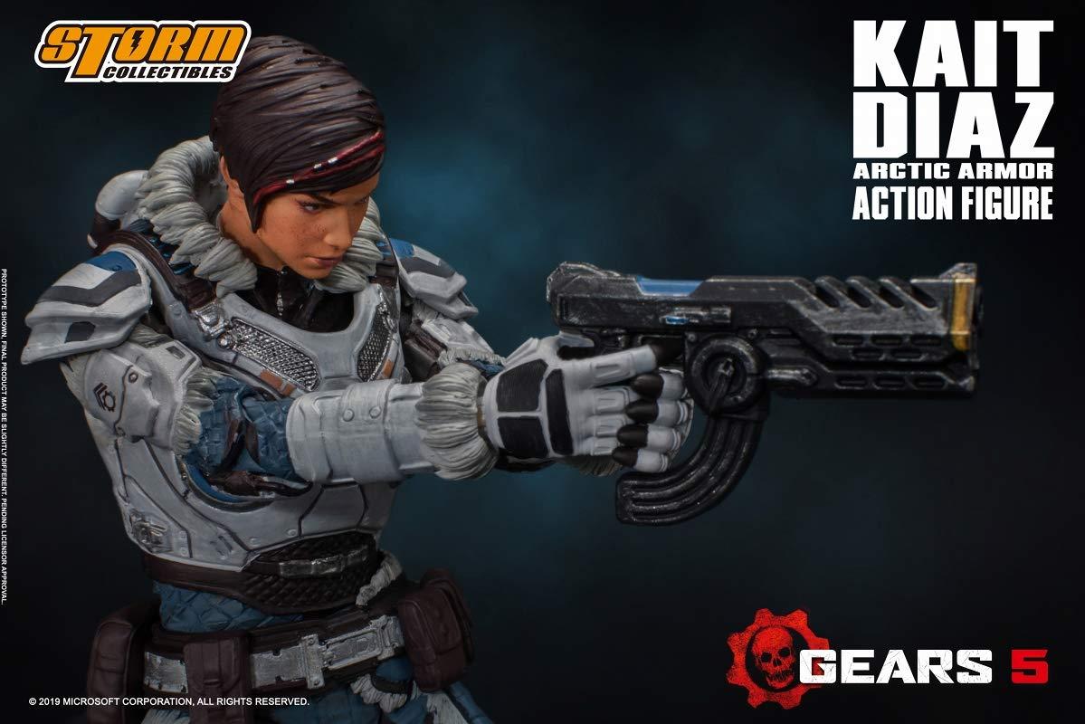Gears 5(ギアーズ5)『ケイト・ディアス アーティックアーマー』可動フィギュア-006