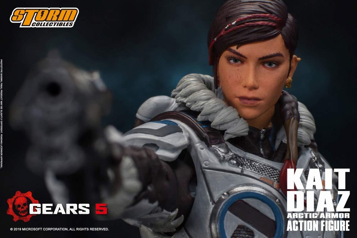 Gears 5(ギアーズ5)『ケイト・ディアス アーティックアーマー』可動フィギュア-007