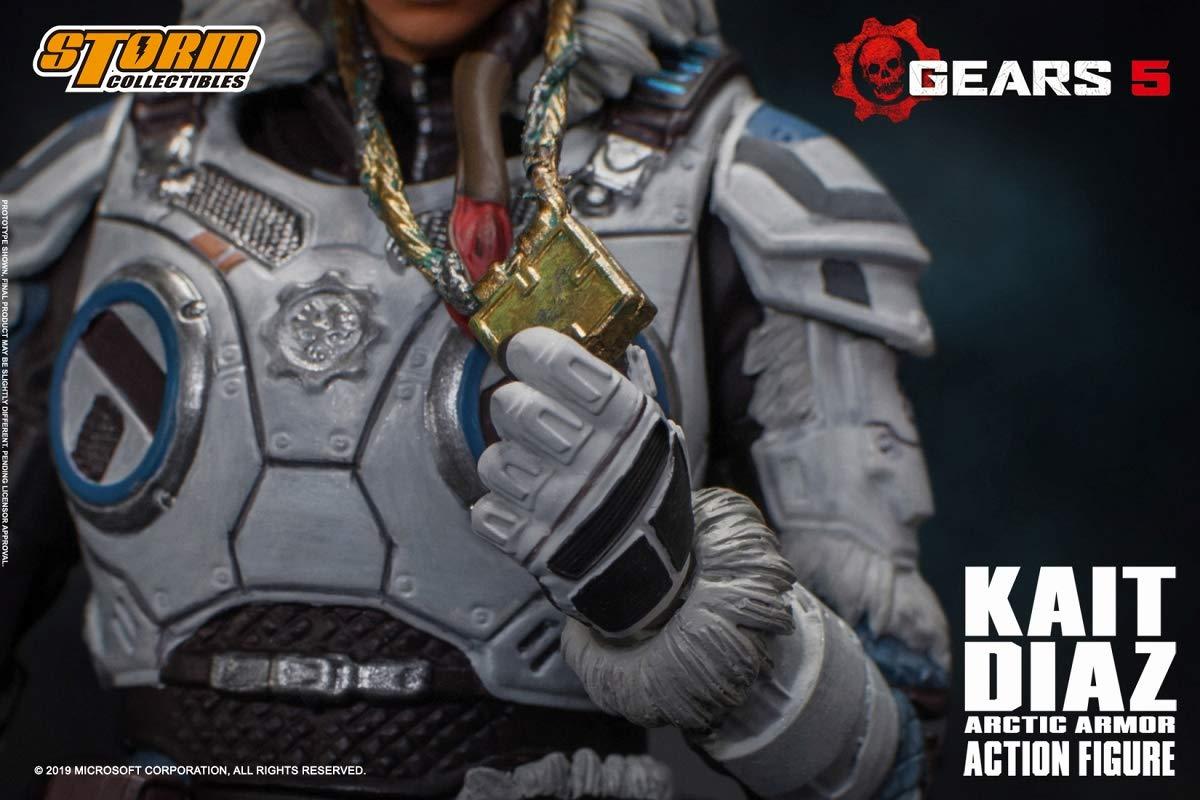 Gears 5(ギアーズ5)『ケイト・ディアス アーティックアーマー』可動フィギュア-008