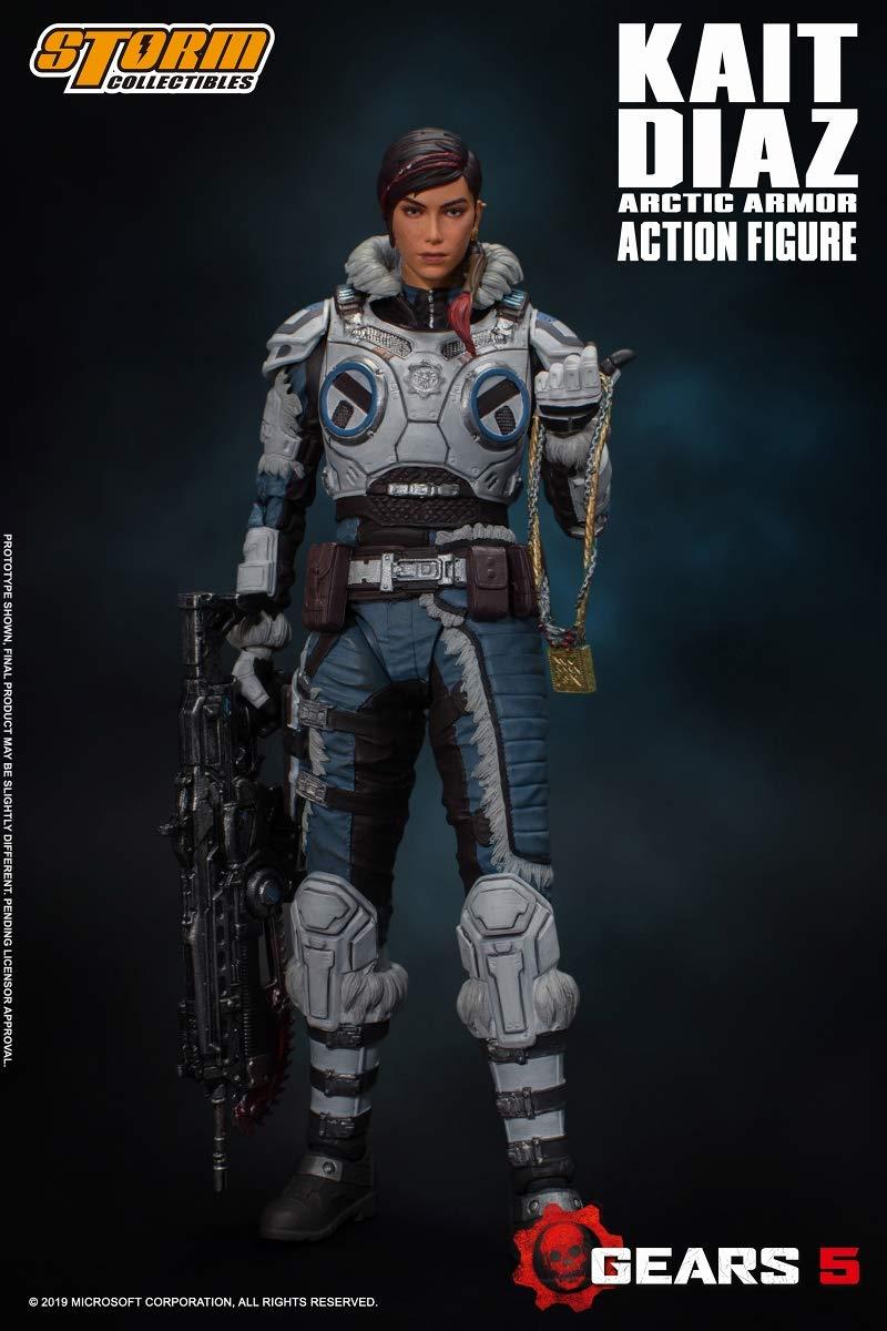 Gears 5(ギアーズ5)『ケイト・ディアス アーティックアーマー』可動フィギュア-009