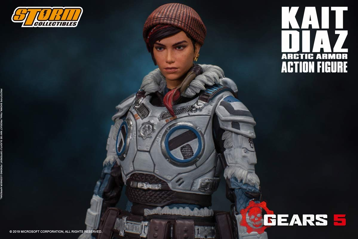 Gears 5(ギアーズ5)『ケイト・ディアス アーティックアーマー』可動フィギュア-010